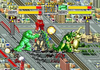 King of the Monsters+arcade+game+portable+videojuego+download free+descargar gratis