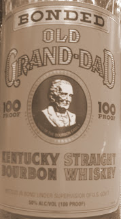 Old Grand dad 100 proof whiskey