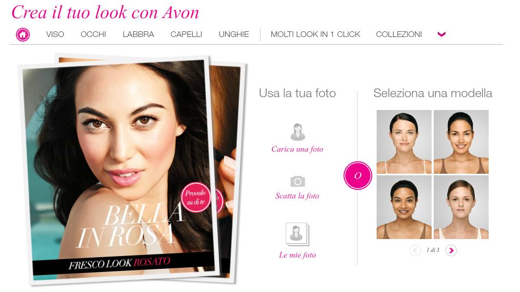 Virtual Make-Up Avon - Acquisti Avon Online