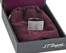 anillo de plata estuche