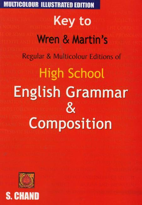 High School English Grammar and Composition Key eBook