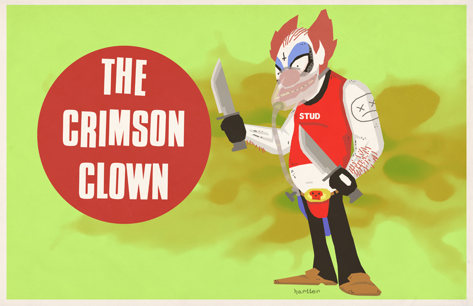 The Crimson Clown by Sean Hartter