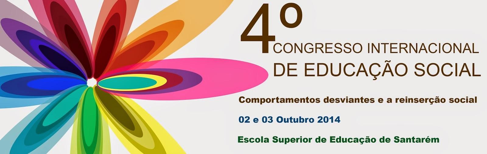 4.º Congresso Internacional de Educação Social