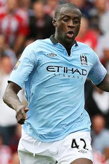 Yaya Toure (Manchester City/Ivory Coast)