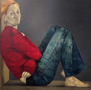 "VIRGINIA WOOLF, ""Las olas"". Pintura de Antonella Lucarella Masetti"