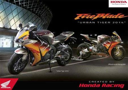Honda CBR Urban Tiger Fireblade (2014)