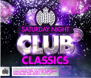 capa Ministry of Sound   Saturday Night Club Classics 2013