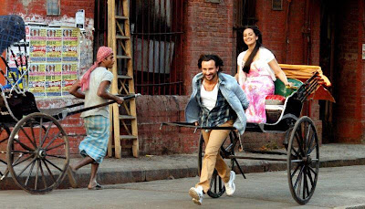 First Look : Saif Ali Khan and Sonakshi Sinha in Bullet Raja