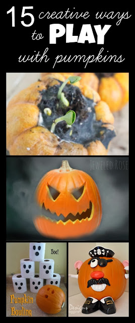 15 super creative ways to play with pumpkins