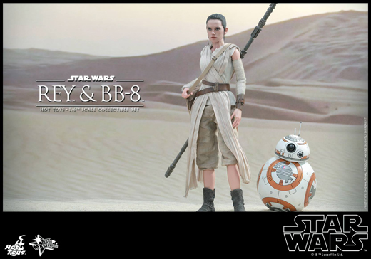 Rey & BB-8 Collectible Set