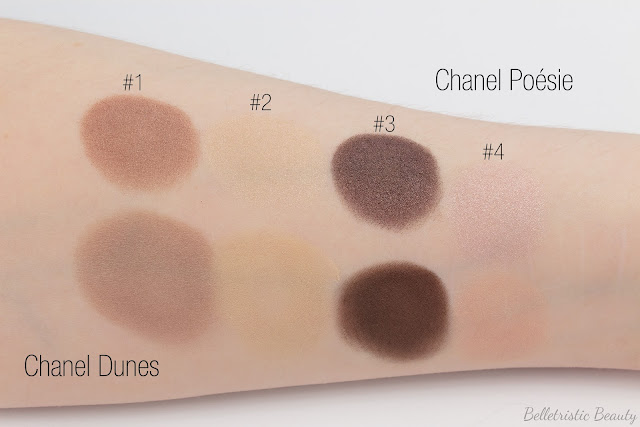 Chanel Poésie 234 Les 4 Ombres Multi-Effect Quad swatches, Summer 2014, Collection, in studio lighting