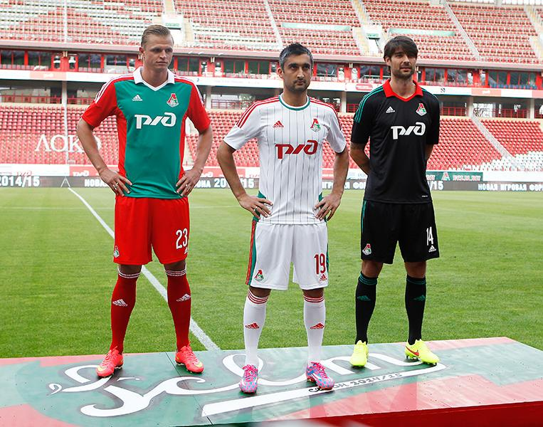 Lokomotiv Moscow Kit Lokomotiv Announced a New Kit