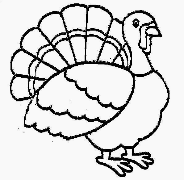 Apples4theteacher Coloring Pages : Picture of a turkey to color free coloring pictures