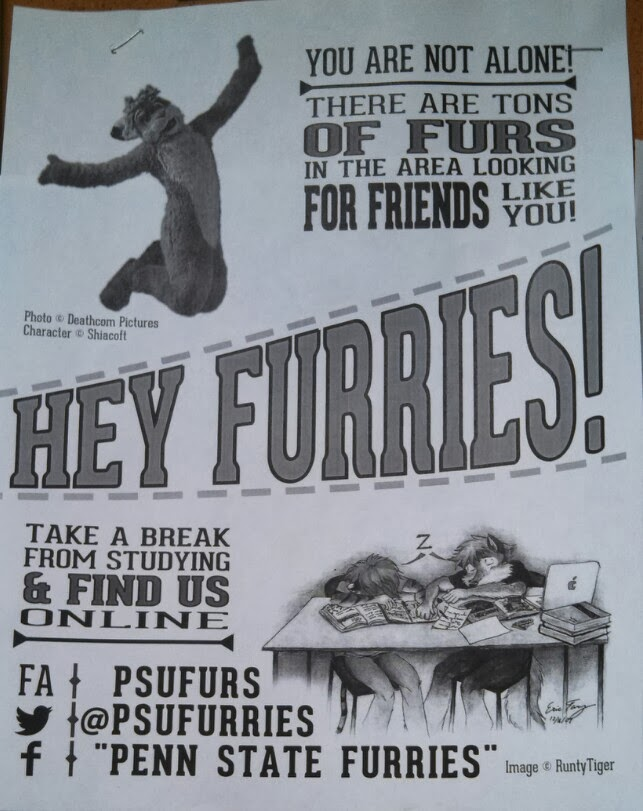 Penn State has a club for Furries.