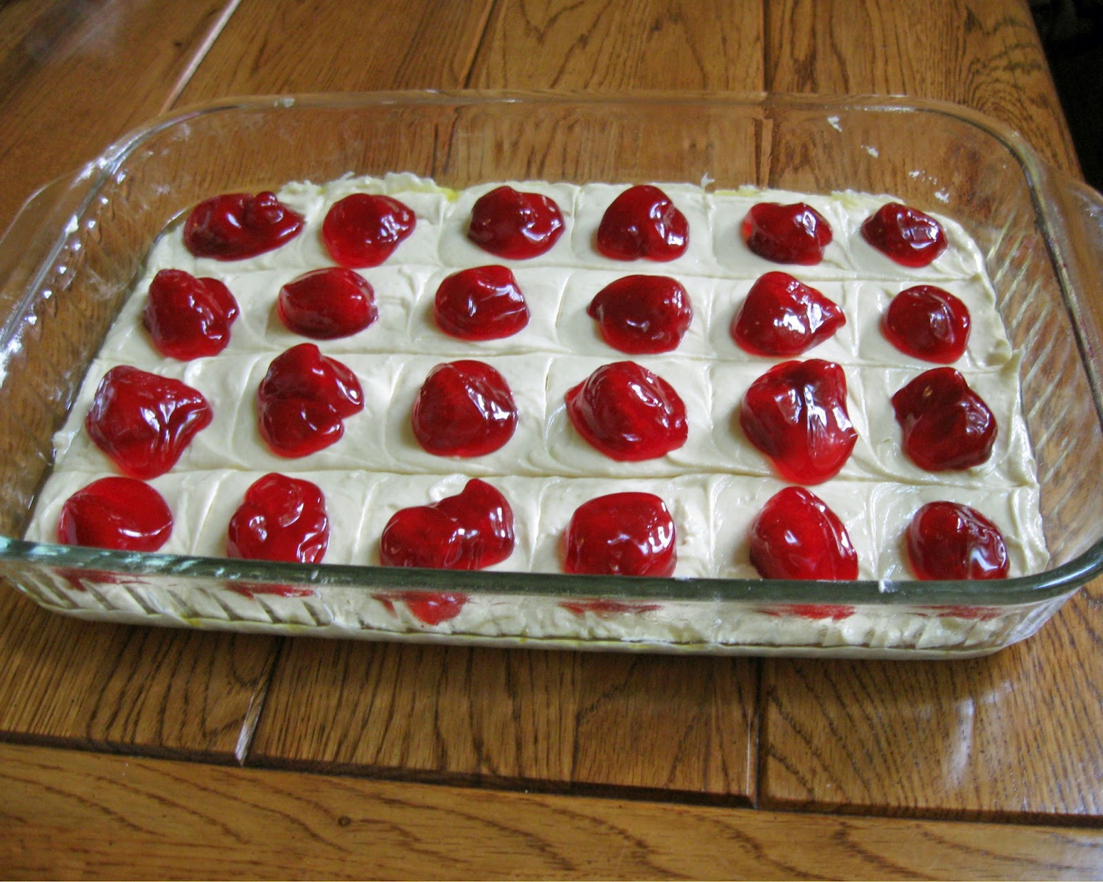 Cheng and 3 Kids: Strawberry Squares