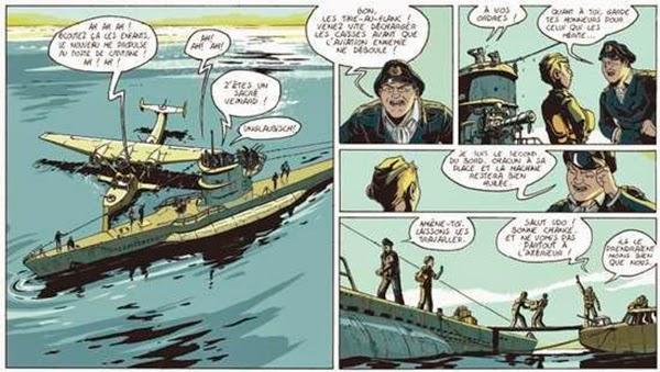 Viñetas de la obra `Pacífico' de Martin Trystram y Romain Baudy