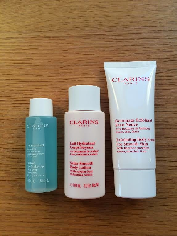 clarins treats