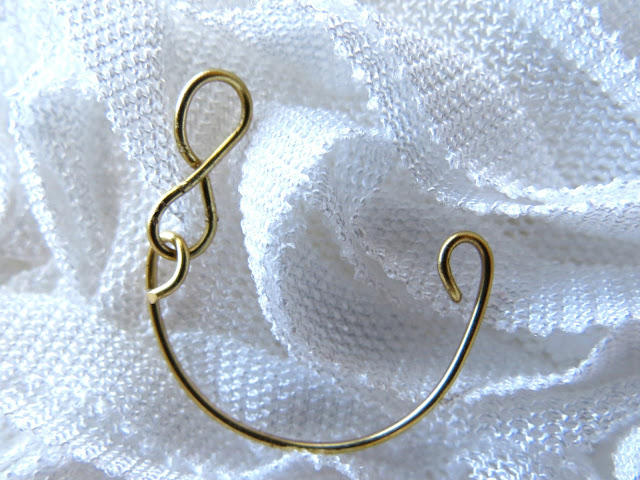 DIY how to make knuckle rings wire easy