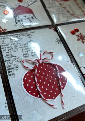einfach amarie - christmas pochet letter