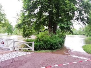 Hochwasser Weimar Ilmpark 2013