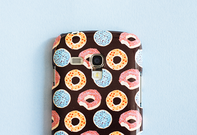 illustrated phone case from caseable by laura redburn
