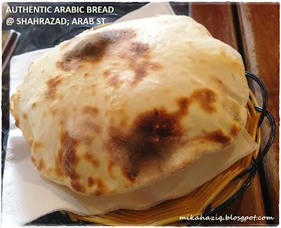 makan sedap di arab street