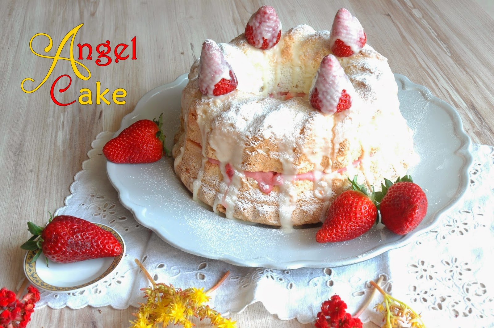 angel food cake di luca montersino