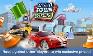 Screenshots of the Car town streets for Android tablet, phone.