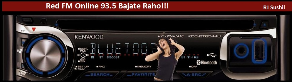 Listen to Red FM 93.5 - Tune into Super-hits 93.5 Red FM, Bajate Raho!