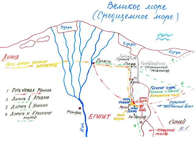 Библия Исход, История, Исход евреев из Египта, Подлинная история,