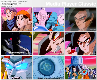 Download Film / Anime Dragon Ball GT Episode 39 Bahasa Indonesia