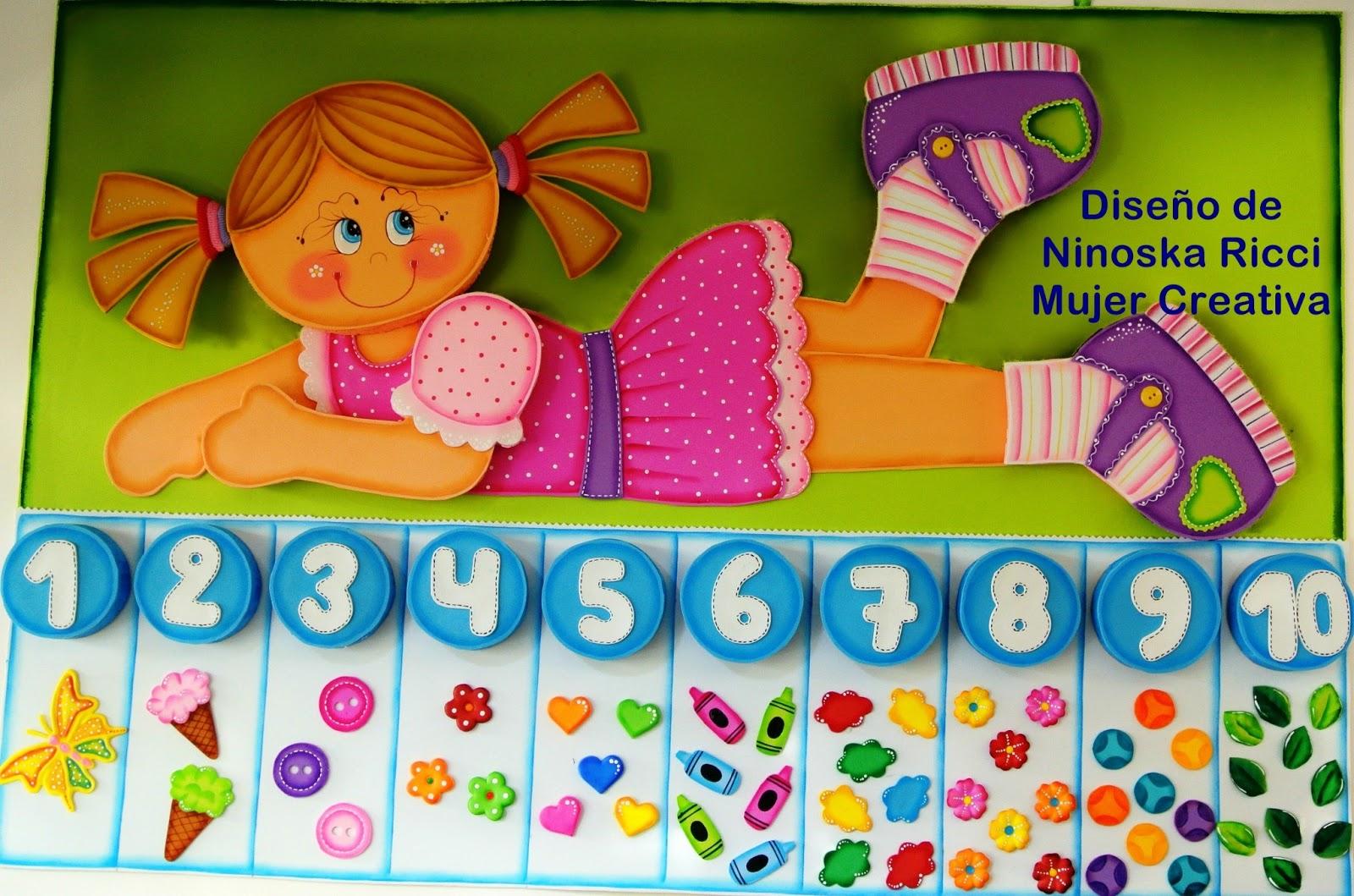 mujer creativa decoraci n de aula