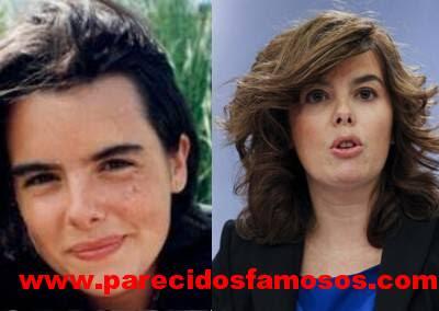 Soraya Saenz antes y después