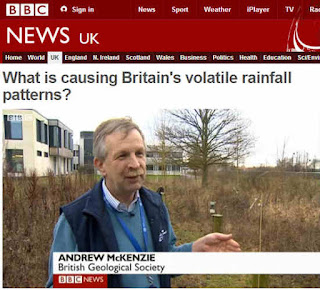 Screenshot from the BBC website of Andrew McKenzie's interview