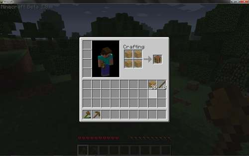 Terablog minecraft awesome for Make a craft table