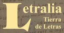 Todos mis blogs en: Letralia, Tierra de letras CLICK:
