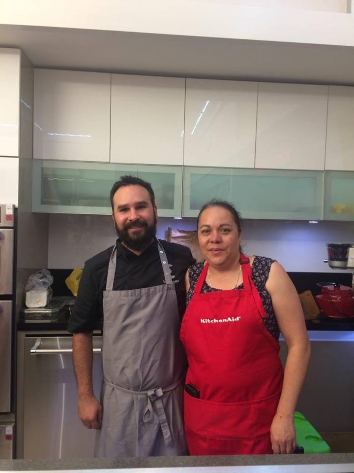 Con chef Rodrigo Carrasco