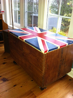 refinished crate union jack