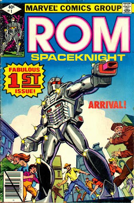 Marvel Comics' Rom Spaceknight Comic Book