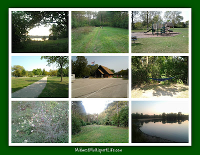 Ottawa Lake Campground Collage