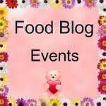 Find Monthly Food Blog Events here