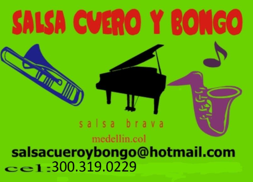 SALSA CUERO Y BONGO