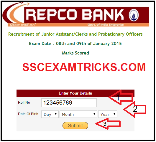 repco result score card