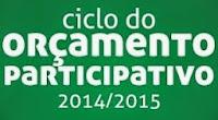 Ciclo do Orçamento Participativo 2014/2015