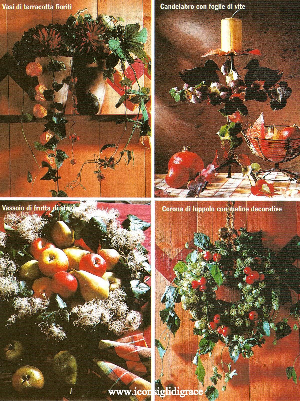 L 39 angolo delle idee i colori dell 39 autunno for Addobbi porta autunno