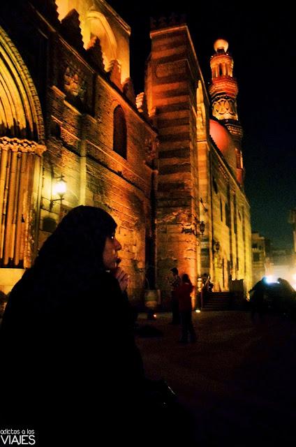 mezquita barrio islamico el cairo
