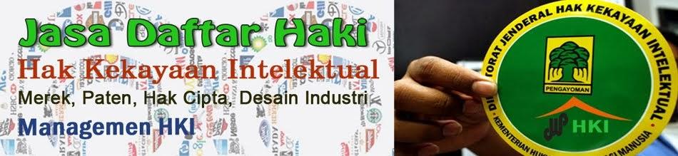 Jasa Daftar HKI seluruh Indonesia