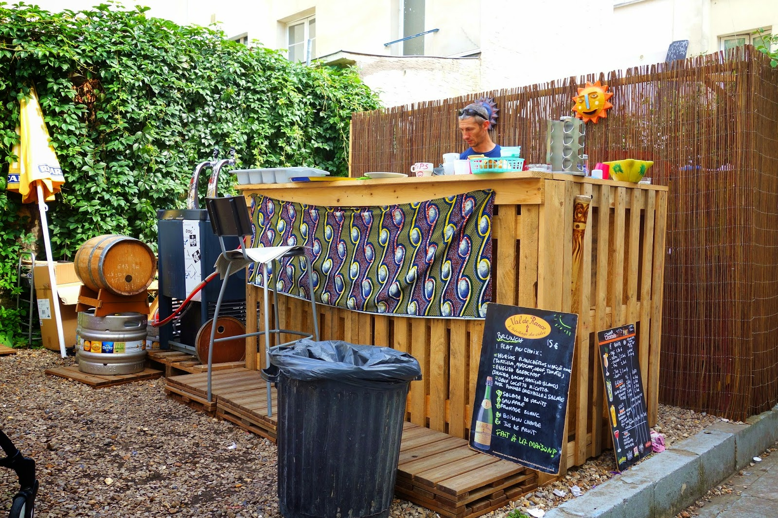 Mes adresses au fond du jardin un brunch champ tre 39 for Au jardin paris
