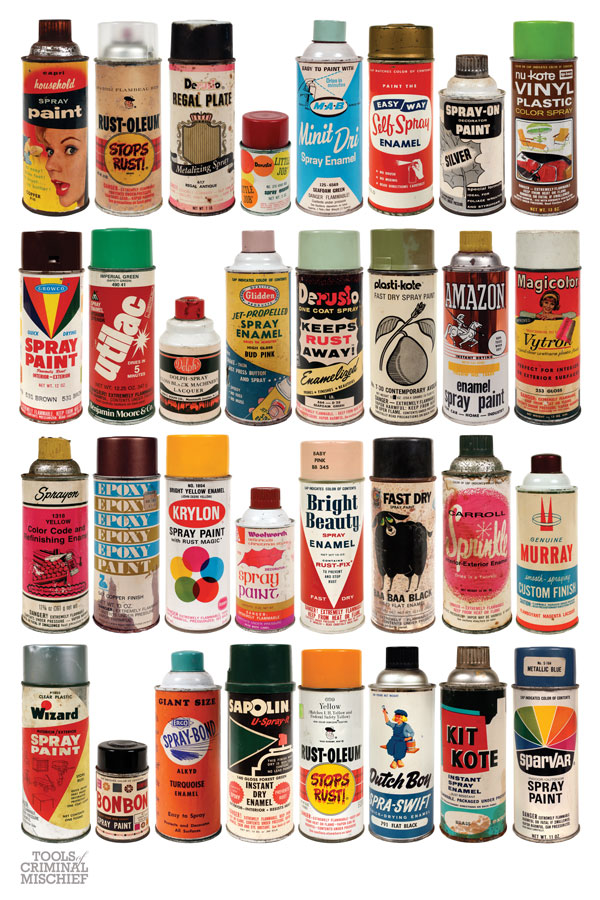 ghosts of the great highway retro rewind vintage spray paint cans. Black Bedroom Furniture Sets. Home Design Ideas