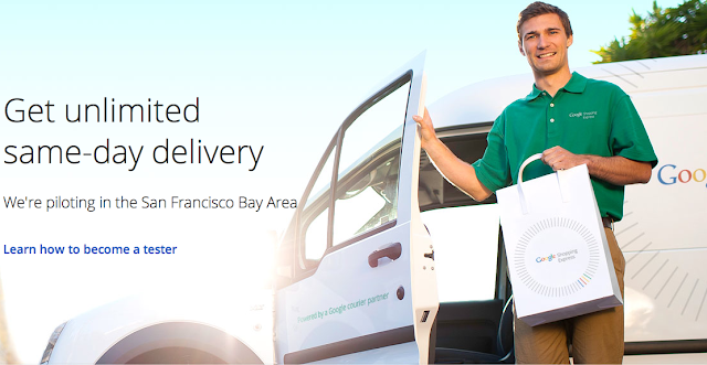 Google dabbling in non core business, going to be a delivery boy now